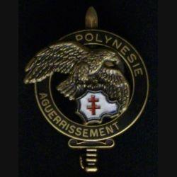 BREVET COMMANDO AGUERRISSEMENT POLYNÉSIE