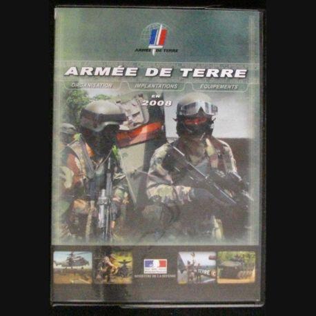 DVD : L'ARMÉE DE TERRE EN 2008 ORGANISATION EQUIPEMENTS IMPLANT (C64)