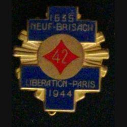 42° RI : 42° RÉGIMENT D'INFANTERIE (FRAISSE) 1635 NEUF-BRISACH