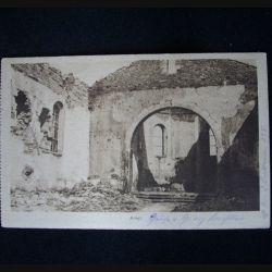 CARTE POSTALE GUERRE 1914-1918 : AMEL 23 JANVIER 1918