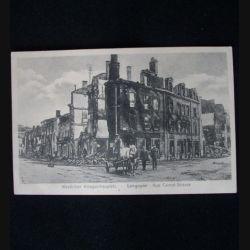 CARTE POSTALE GUERRE 1914-1918  : LONGUYON 14 JANVIER 1914