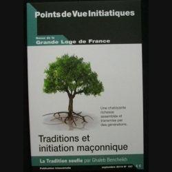 Revue de la grande loge de France - Traditions et initiation maçonnique Septembre 2010 n°157 (C66)