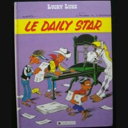 Lucky Luke - Le daily star aux éditions Dargaud (C83)
