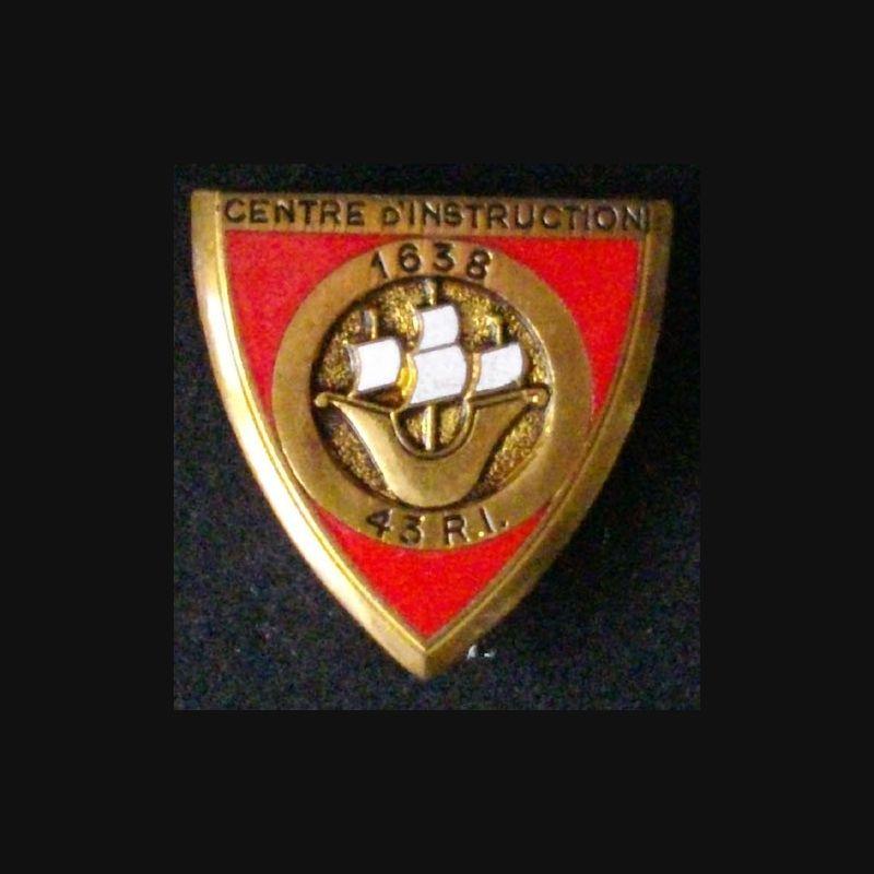 43° RI Régiment D'infanterie Insignes Militaires