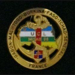 9° DIMA : Unité de commandement et de logistique UCL de la 9° DIMA MISAB 98 Fab Martineau bout d'épingle coupée