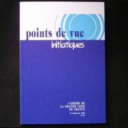 POINTS DE VUE INITIATIQUES N°87 4°TRIMESTRE 1992 (C66)