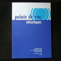 POINTS DE VUE INITIATIQUES N°66 3°TRIMESTRE 1987 (C66)