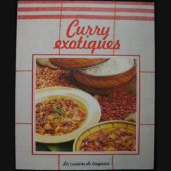 LA CUISINE DE TOUJOURS : CURRY EXOTIQUES