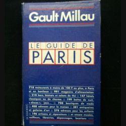 Le guide de Paris Gault Millau (C69)