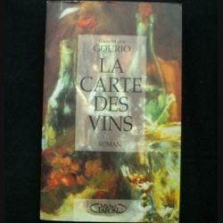 LA CARTE DES VINS DE JEAN-MARIE GOURIO AUX EDITIONS MICHEL LAFON (C69)
