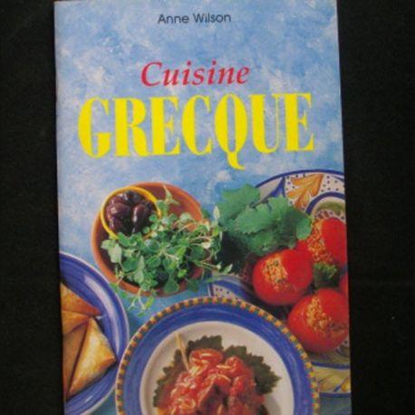 Cuisine Grecque De Anne Wilson Aux Editions Konemann