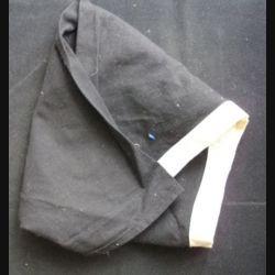 Foulard scout noir à liseret blanc (C81)
