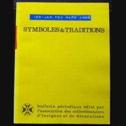 2. SYMBOLES & TRADITIONS : DU N°165(01-1998) AU N°168(12-1998) (C88)