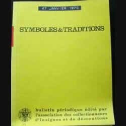 2. SYMBOLES & TRADITIONS : DU N°47(10-1970) AU N°52(11-1970) (C89)