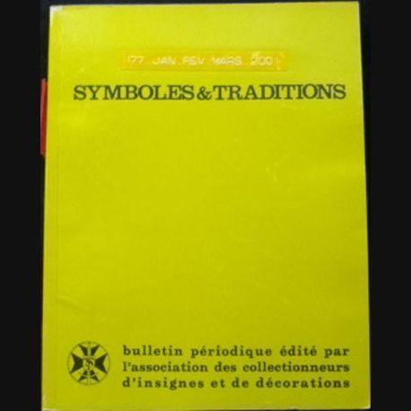 2. SYMBOLES & TRADITIONS : DU N°177(01-2001) AU N°180(12-2001) (C88)