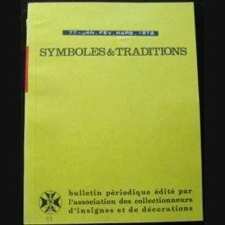 2. SYMBOLES & TRADITIONS : DU N°77(01-1976) AU N°80(12-1976) (C77)