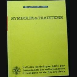 2. SYMBOLES & TRADITIONS : DU N°59(01-1972) AU N°64(11-1972) (C89)