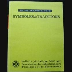 2. SYMBOLES & TRADITIONS : DU N°89(01-1979) AU N°92(12-1979) (C89)