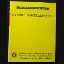 2. SYMBOLES & TRADITIONS : DU N°149(01-1994) AU N°152(12-1994) (C88)
