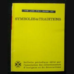 2. SYMBOLES & TRADITIONS : DU N°145(01-1993) AU N°148(12-1993) (C88)