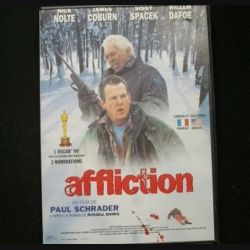 DVD : AFFLICTION un film de Paul Schrader 1 Oscar 1999 et 2 nominations (C64)