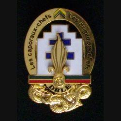 13° DBLE : insigne des caporaux-chefs de la 13° demi brigade de la Légion étrangère de fabrication Boussemart 2011