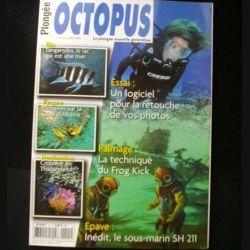 OCTOPUS N°15 mai juillet 2013 : superbe revue d'Octopus n°15 sur la plongée nouvelle génération (C65)