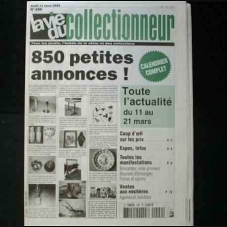 la vie du collectionneur n 499 mars 2004 journal tr s bien document sur les antiquit s ma. Black Bedroom Furniture Sets. Home Design Ideas