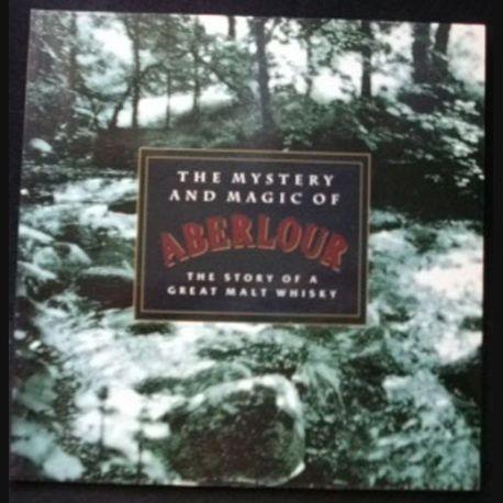 ABERLOUR : magnifique livre en anglais sur les mystères et la magie du whisky Aberlour, histoire d'un grand malt écrite par Andrew Langley et Jim Murray