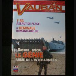 VAUBAN LA LETTRE DU GENIE N°5 2007 : revue consacrée au Génie arme de l'interarmées, le 1° régiment du génie et l'assaut de plage et le déminage humanitaire US (C91)