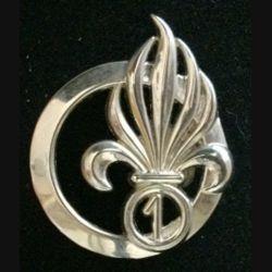 1° REC : insigne de  béret du 1° régiment étranger de cavalerie Boussermart 3840