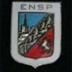ENSP : insigne de l'école nationale de la sécurité publique en émail de fabrication Augis