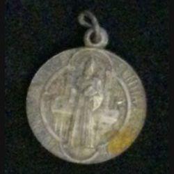 MÉDAILLE RELIGIEUSE : vieille médaille religieuse MDCCCLXXX (1880) eius orbitu nro pra sentia muniamur