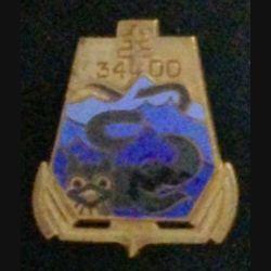34° DD : 34° DIVISION DE DRAGUEURS ÉMAIL (DRAGO DÉPOSÉ)