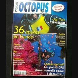 OCTOPUS N°12 août octobre 2012 : superbe revue d'Octopus n°12 sur la plongée nouvelle génération (C65)