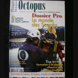 OCTOPUS N°6 janvier mars 2011 : superbe revue d'Octopus n°6 sur la plongée nouvelle génération (C65)