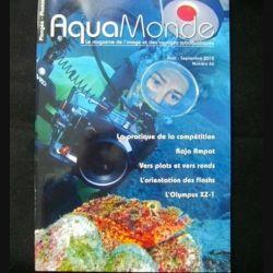 AQUAMONDE N°46 août septembre 2012 : superbe magazine d'Aquamonde n°40 sur l'image et les voyages subaquatiques (C65)