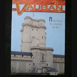 VAUBAN LA LETTRE DU GENIE N°3 2009 : revue n°163 consacrée à l'Indochine et les chemins de fer (C91)