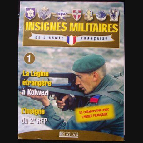 0. insignes militaires de l''armée française n°1 : l'insigne du 2° REP (régiment étranger de parachutistes de la légion) (C149)