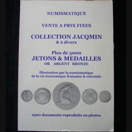 0. CATALOGUE PLATT : catalogue à prix marqués de plus de 5000 jetons et médailles en or, argent et bronze avec plus de 2500 documents photographiés (C91)