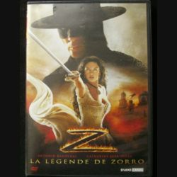 DVD : LA LEGENDE DE ZORRO un film avec Antonio Banderas et Catherine Zeta-Jones oscar 2002 de la meilleure actrice dans Chicago (C64)