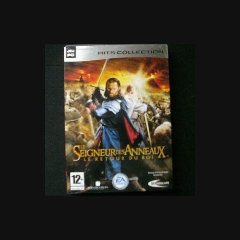 vente professionnelle 2019 meilleurs célèbre marque de designer JEU PC DVD ROM : LE SEIGNEUR DES ANNEAUX le retour du roi - Ma Collection  Pas Chère