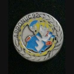 1° RCP : insigne de la 4° compagnie du 1° régiment de chasseurs parachutistes au Cambodge mandat Apronuc 92 de fabrication Ballard