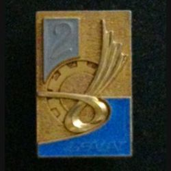 2° GSALAT : insigne du 2° groupe de soutien de l'aviation légère de l'armée de terre sans fabricant G. 2560