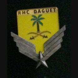 5° RHC : insigne du 5° régiment d'hélicoptères de combat opération daguet de fabrication Fraisse