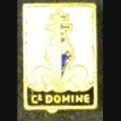 COMMANDANT DOMINE INSIGNE BOUTONNIÈRE