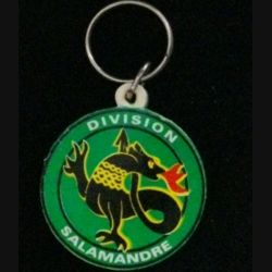PORTE CLEFS DIVISION SALAMANDRE : porte clefs de la division Salamandre en Ex-Yougoslavie