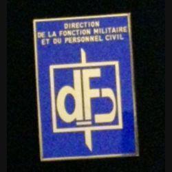 DFP : insigne de la direction de la fonction militaire et du personnel civil de fabrication Balme G. 4466