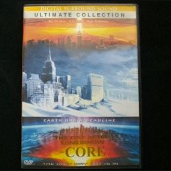 DVD the day after tomorrow the Core : film de science fiction post apocalyptique avec Bill Pullman, Will Smith et Mary McDonnell (C64)