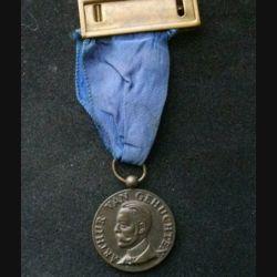 BELGIQUE : médaille des 100 ans du jubilé médical de neurologie de Belgique avec en avers portrait de Arthur Van Gehuchten revers 1857 babinski sherrington horsley 1957
